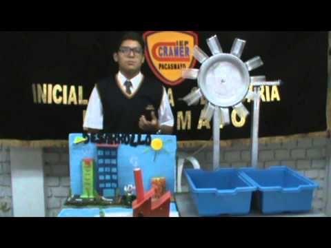 Mini Bomba de Agua Casera con Motor | Experimentos Caseros - YouTube