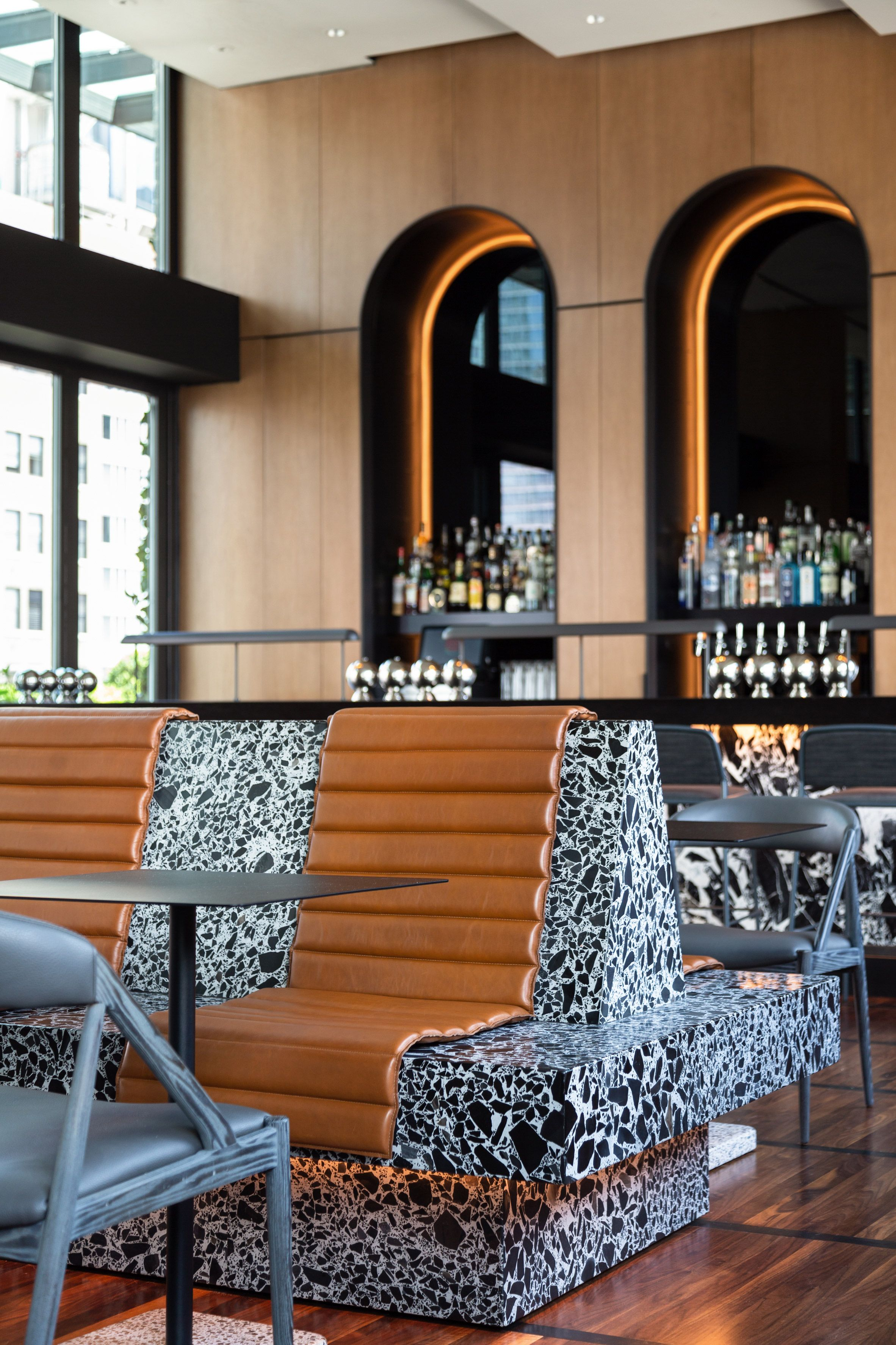 Castell rooftop bar by BHDM offers cosy setting with