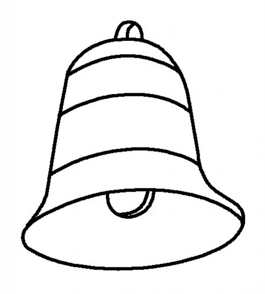 Free Printable Bell Coloring Pages For Kids Coloring Pages For Kids Barbie Coloring Pages Christmas Bells Drawing