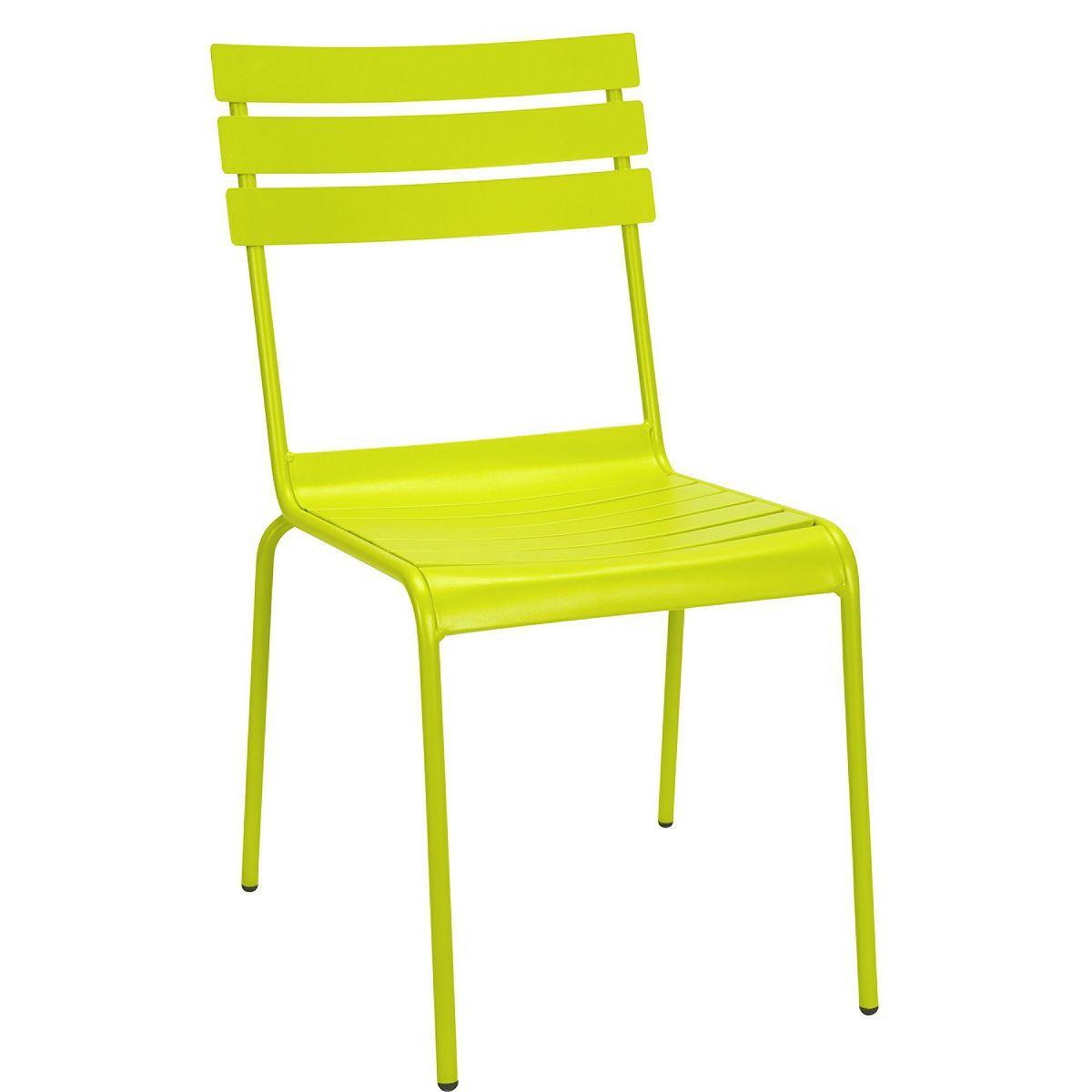 CALYPSO Stuhl ohne Armlehne lime - Butlers Deutschland