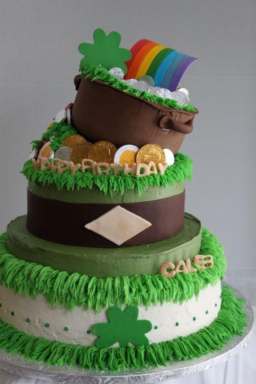 Superb St Patricks Day Birthday Cake Cake Holiday Cakes Funny Birthday Cards Online Necthendildamsfinfo