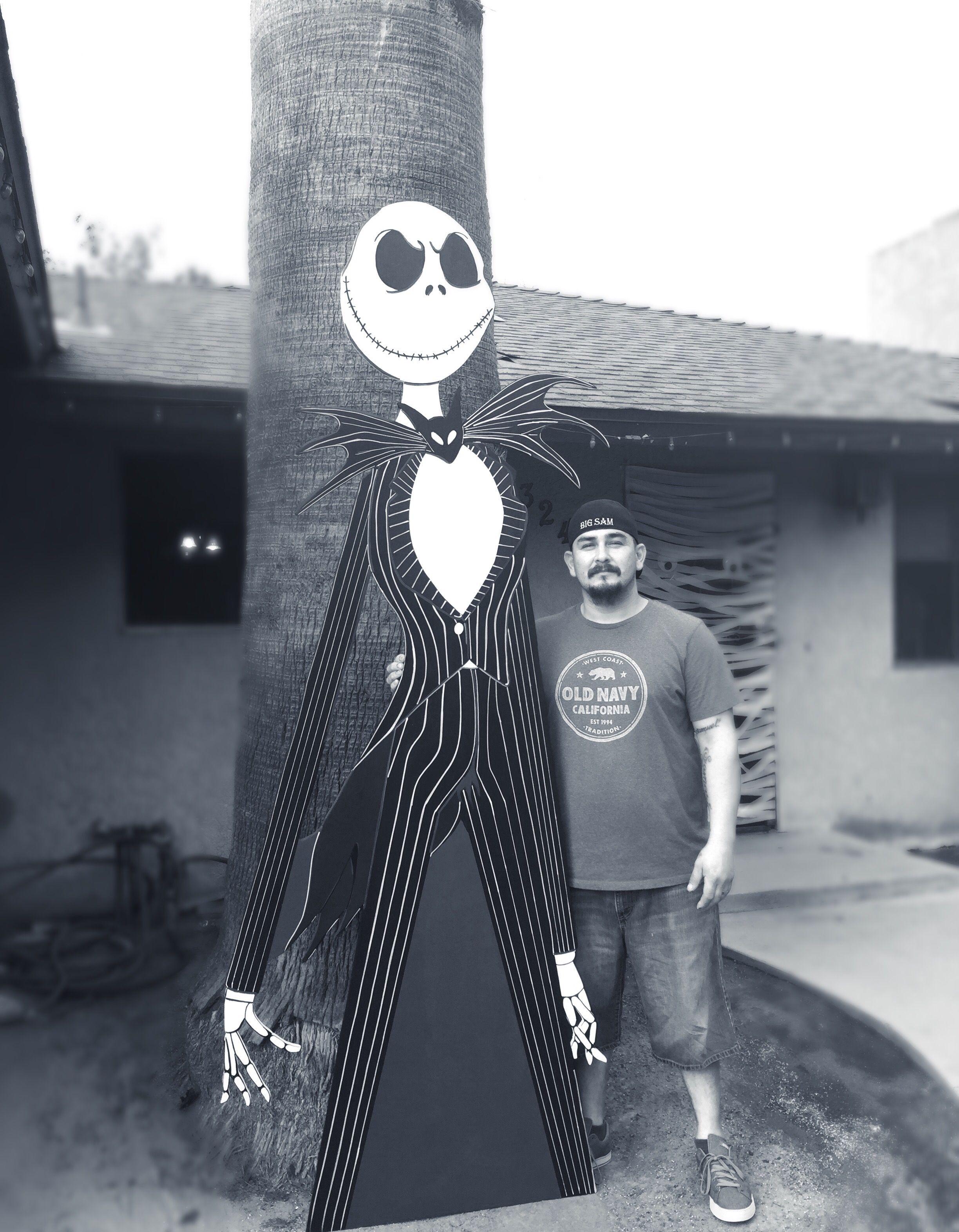 Jack skeleton- Nightmare Before Christmas- wood cutout- nightmare ...