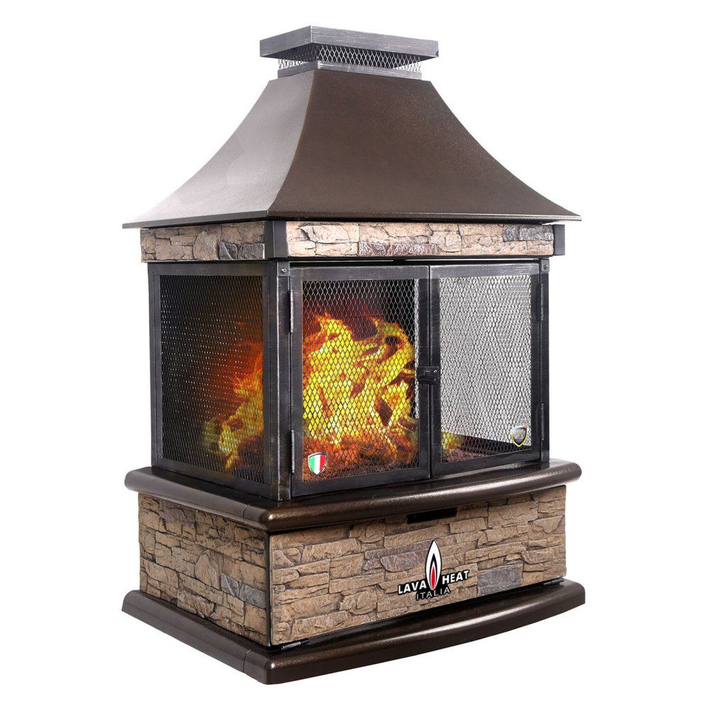 Lava Heat Lorenzo Propane Outdoor Fireplace - Fireplaces & Chimineas at Hayneedle