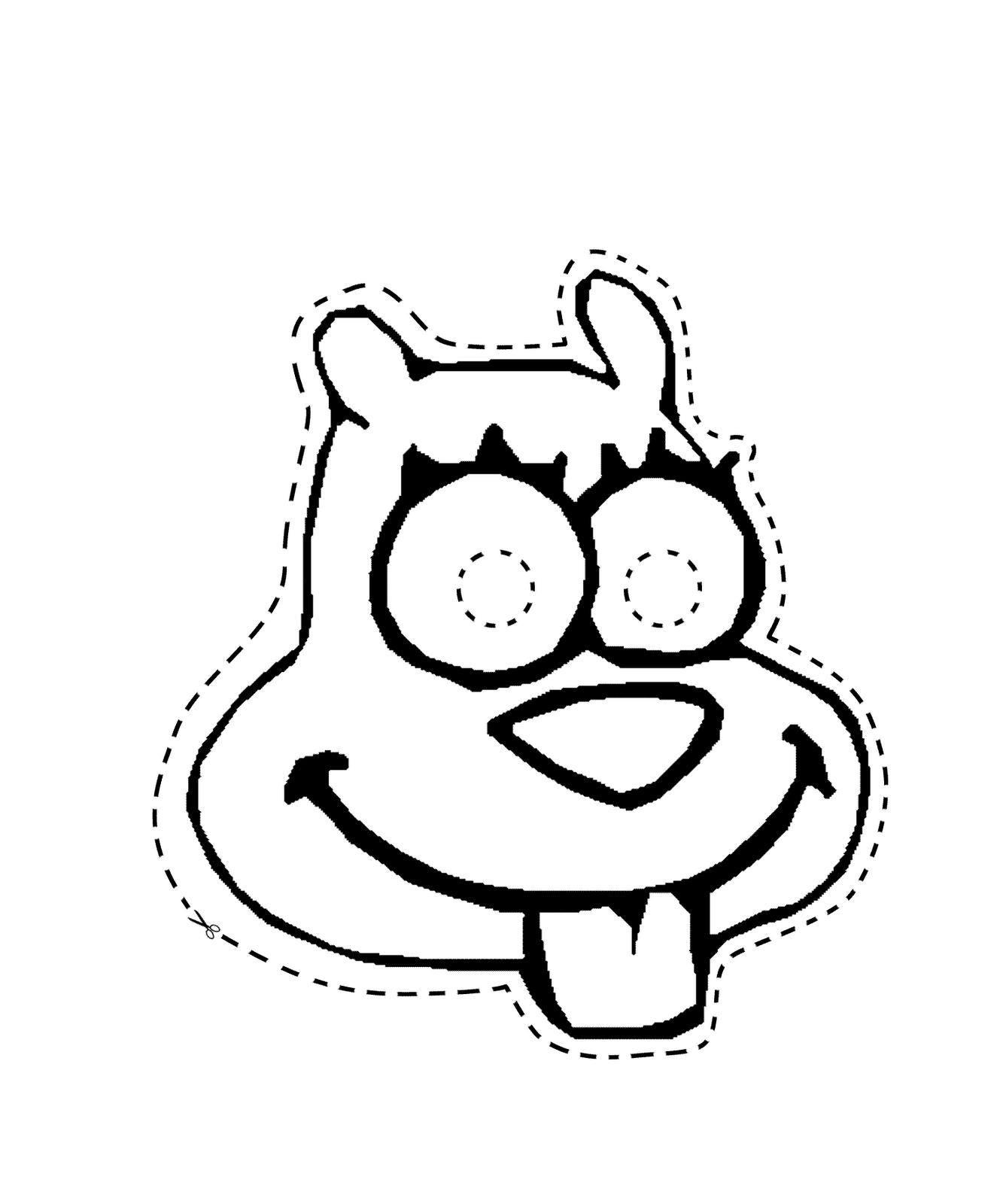 princess crown monkey pirate mr krab sandy squirrel sponge bob