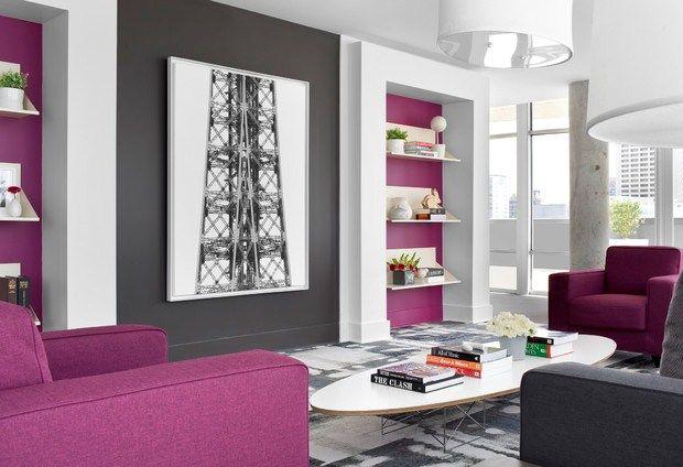 Graue Wand Erdbeeren Farbmotive Ideen Wandregal weiß | Ideen rund ...