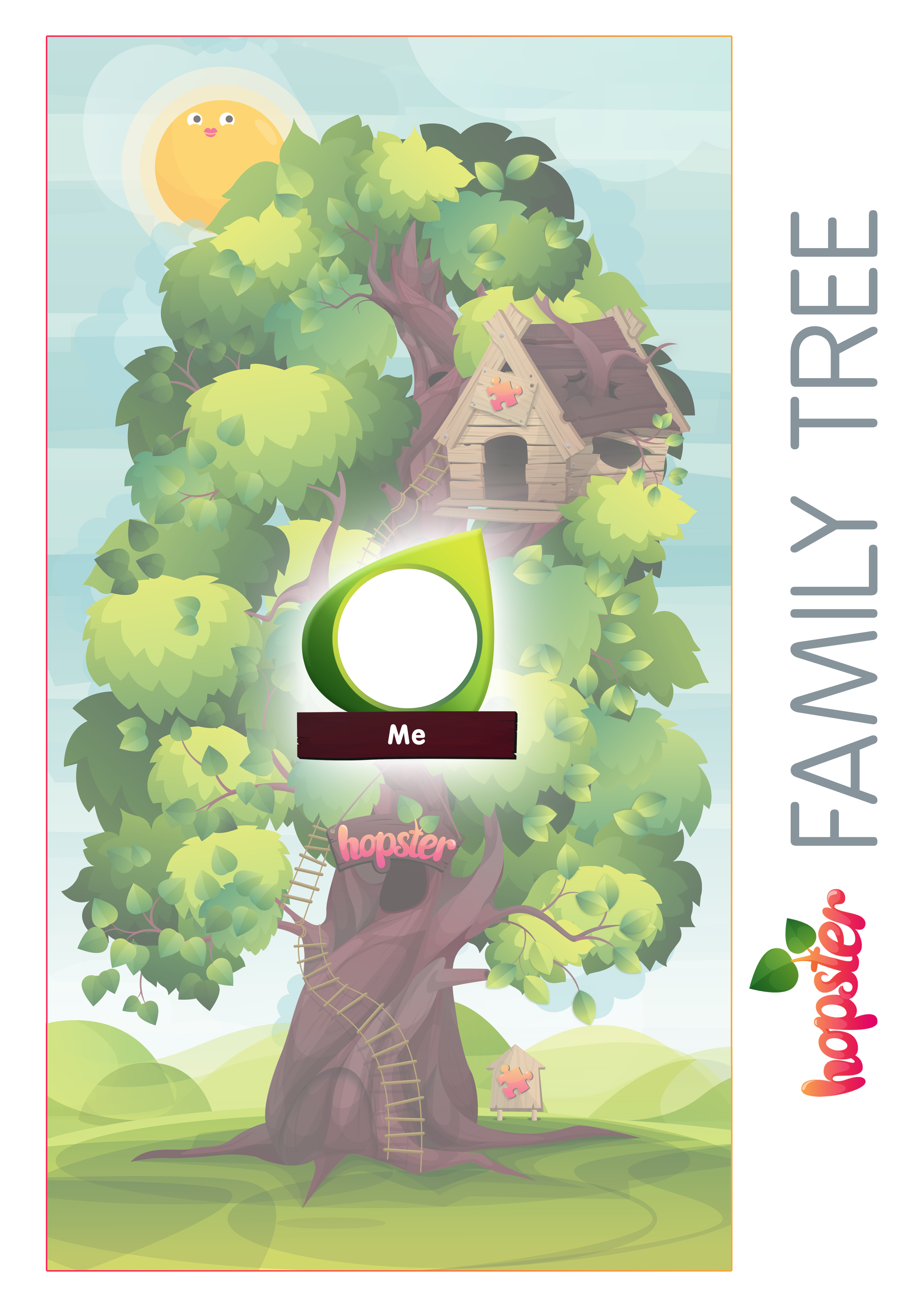 Create Your Own Beautiful Family Tree With Our Easy Template Today