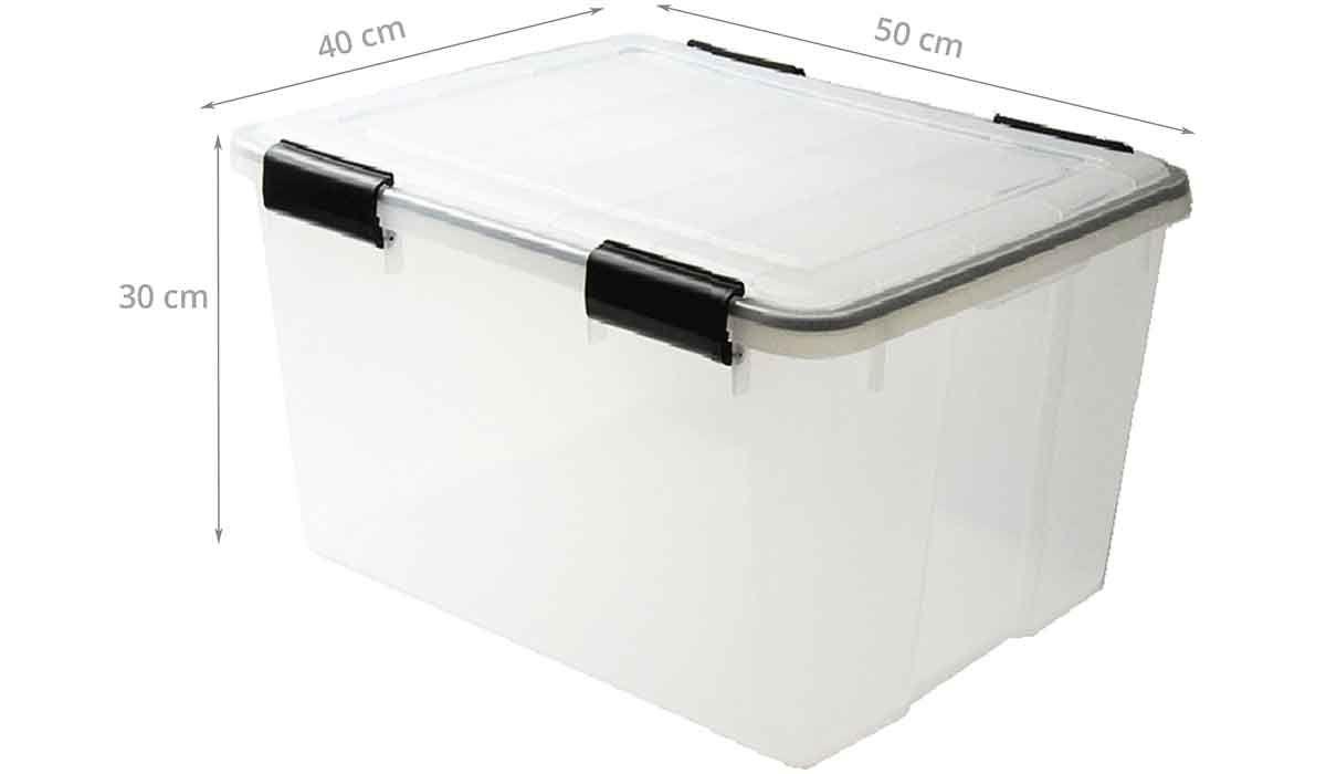 Boîte De Stockage étanche En Plastique Translucide 44