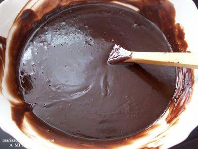 A mi manera: TARTALETAS CON GANACHÉ DE CHOCOLATE AL WHISKY