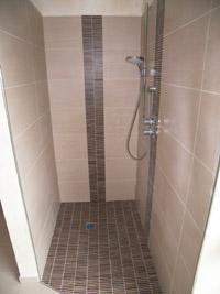 Delightful Bad Dusche Abmauerung Fliesenmosaik V Maurer 200×267 Good Looking