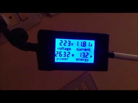 كمية الكهرباء المستهلكة لشحن بطارية فورد سي ماكس انرجي Digital Alarm Clock Alarm Clock Digital