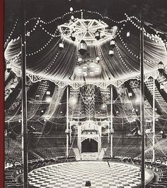 vintage circus - Google Search  I like the shape of the tent here