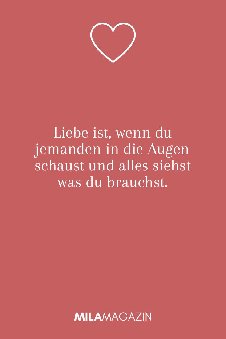 """5 wundervolle """"Liebe ist""""-Sprüche in 5  Romantische sprüche"""