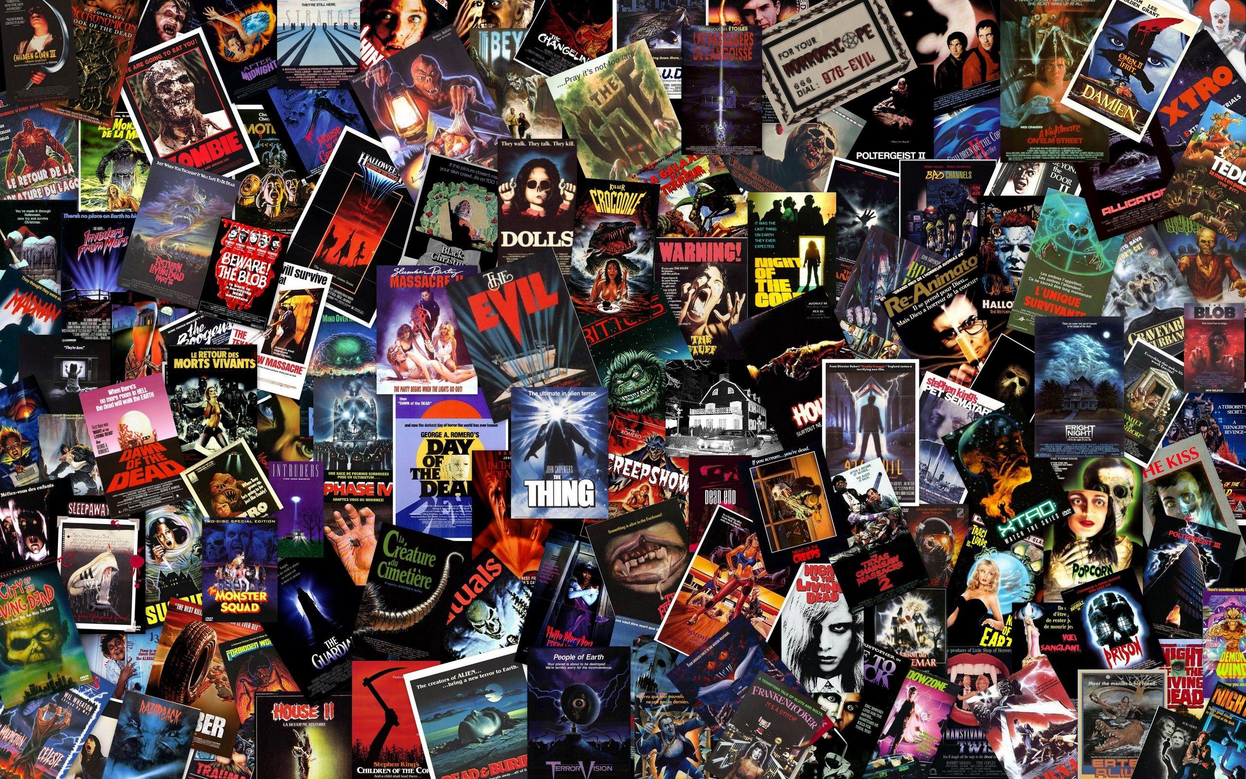 Horror Movies Wallpaper Massive B Horror Collage Wallpaper Horror Movies Movie Themes Top Horror Movies
