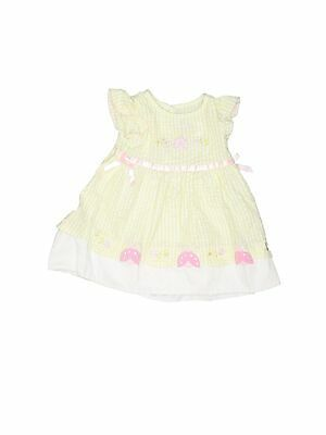 (Sponsored)eBay - Youngland Girls Ivory Dress 6-9 Months
