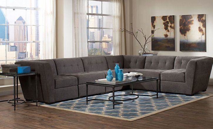 roxanne sectional sofa granite macy s