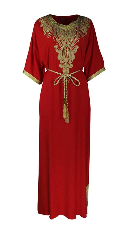241fe58a326a Women islamic clothing Long Dubai Jalabiya Dress moroccan Kaftan Caftan  Islamic Abaya Turkish fashion Muslim dress arab robe1605