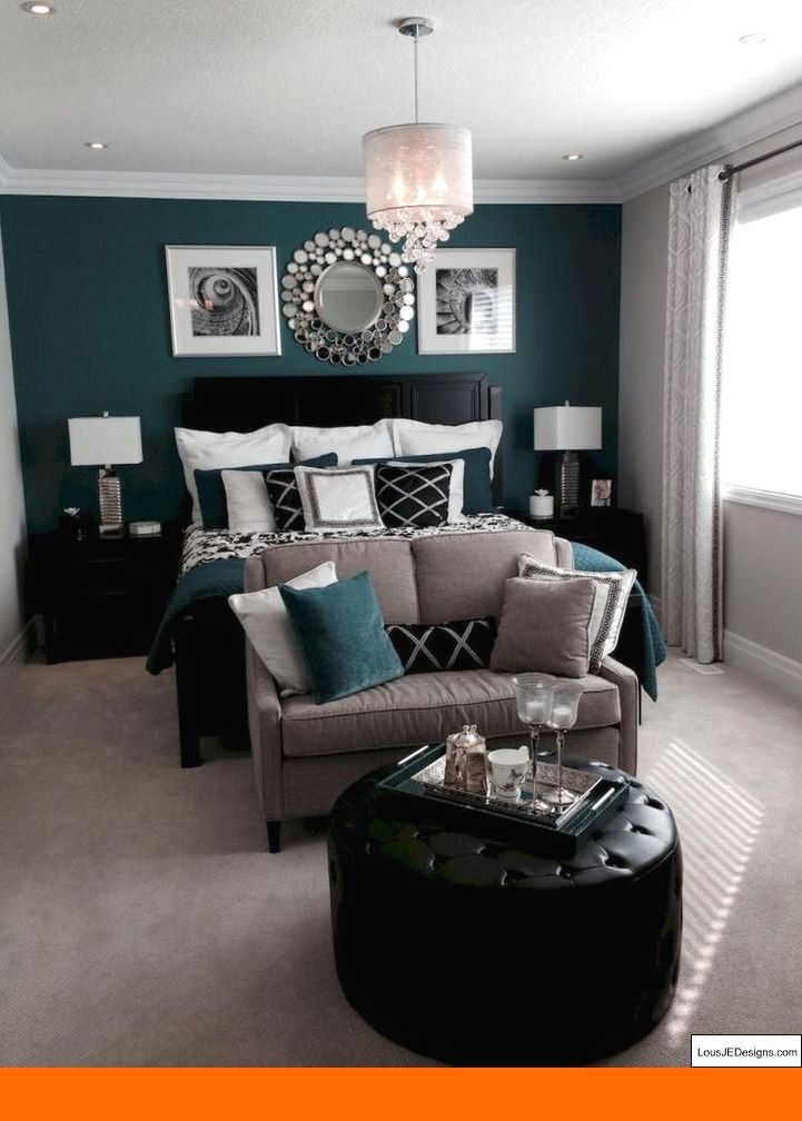 Master Bedroom Colors With Dark Wood Furniture and Bedroom ...