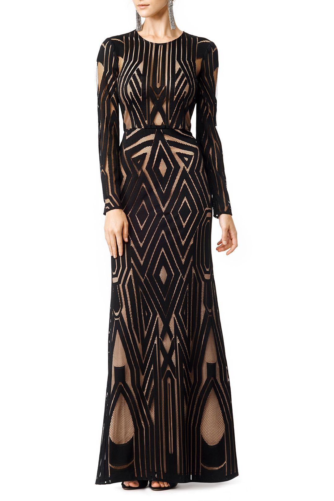 Rent Chakra Gown by BCBGMAXAZRIA for $85 only at Rent the Runway ...