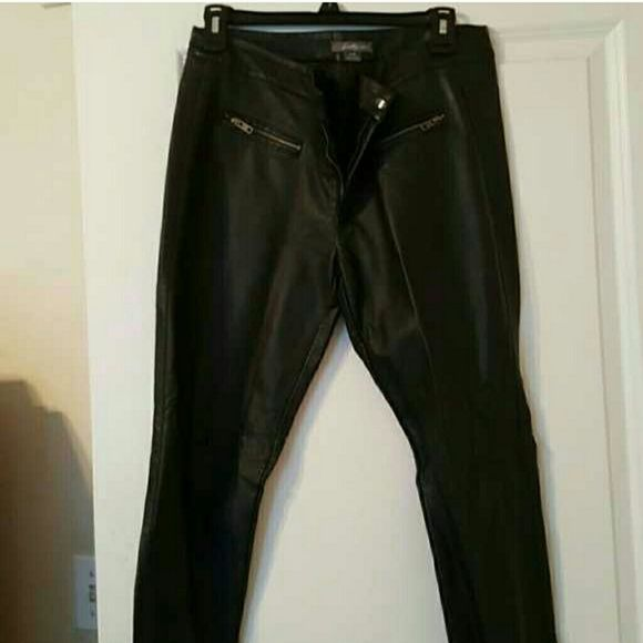 Selling this Leather pants in my Poshmark closet! My username is: qteondty. #shopmycloset #poshmark #fashion #shopping #style #forsale #Forever 21 #Pants