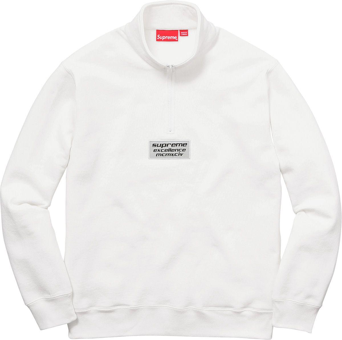 Supreme Stripe Hooded Sweatshirt Hooded Sweatshirts Sweatshirts T Shirts S [ 1195 x 1200 Pixel ]