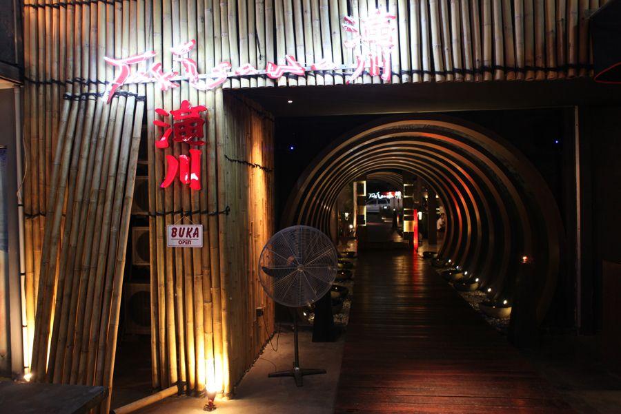 Stunning Decoration Of Japanese Restaurant Modern Classic
