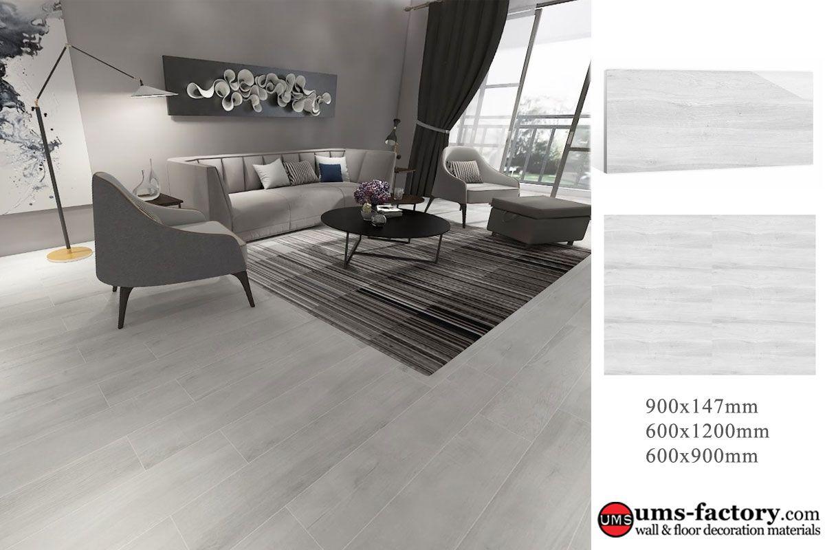 Wood Porcelain Tiles Wood Grain Porcelain Floor Tiles For Living Room 900x147mm 600x Porcelain Tile Floor Living Room Tile Floor Living Room Living Room Tiles