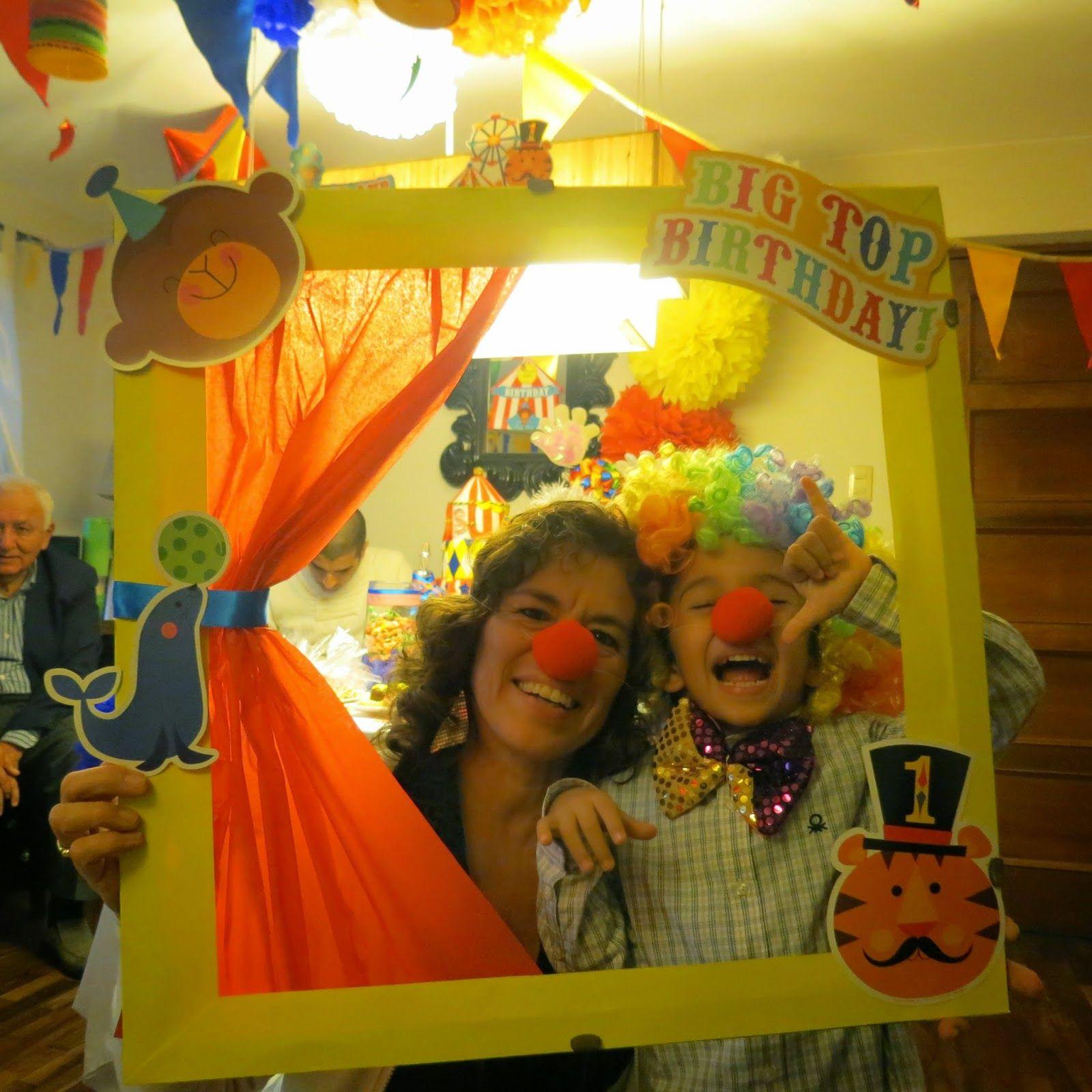 CIRCUS PARTY ~ VM DESIGNER | Ideas Divertidas para Cumpleaños ...