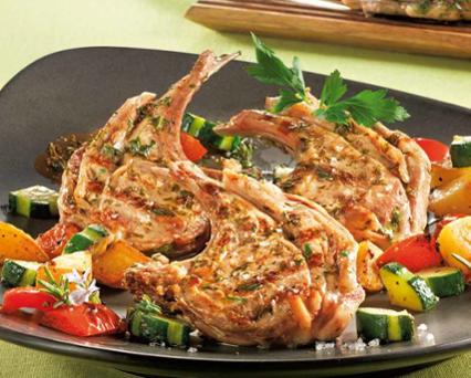 Herb Crusted Lamb Chops Recipe - Tefal