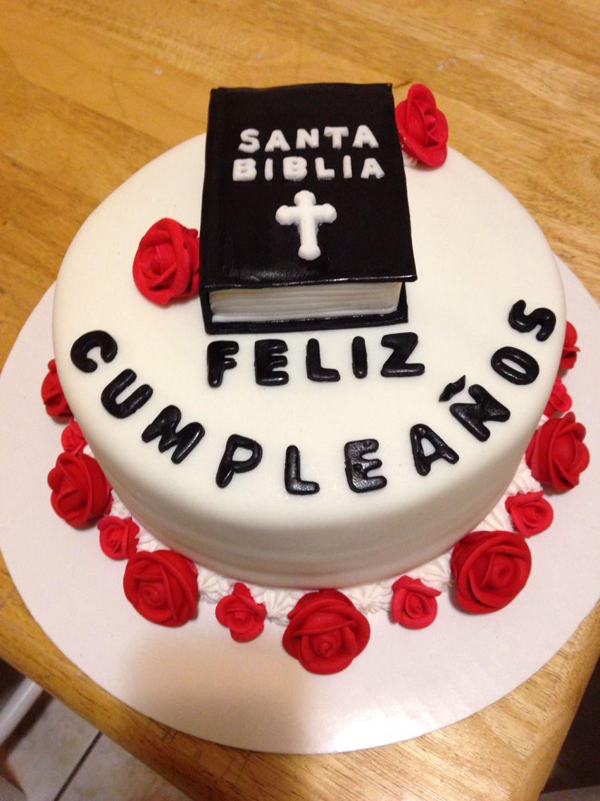 Spanish bible cake