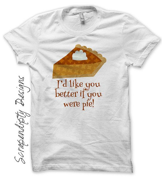 Iron on Pumpkin Pie Shirt PDF - Thanksgiving Iron on Transfer / Toddler Like You Better Pie Tshirt / Baby Girl Thanksgiving Outfit by ScrapendipityDesigns on Etsy