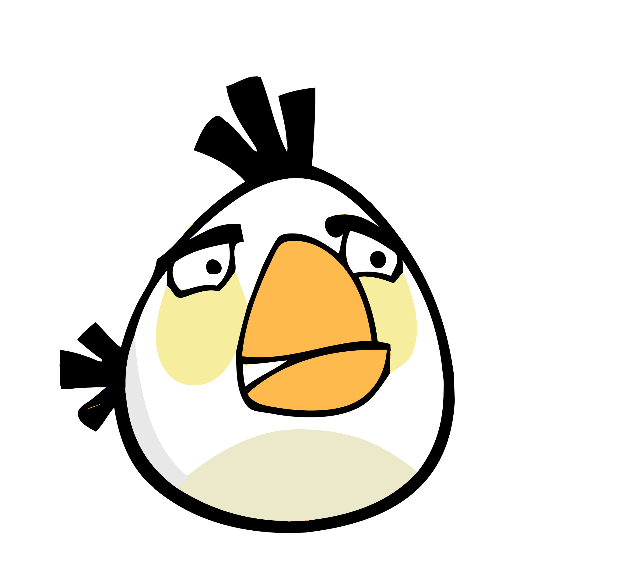 white bird | Angry birds stella, Bird coloring pages ...