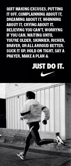 Nike - Rewrite history. Redefine the position. | Manifesto / Slogan /  Tagline | Pinterest | Slogan