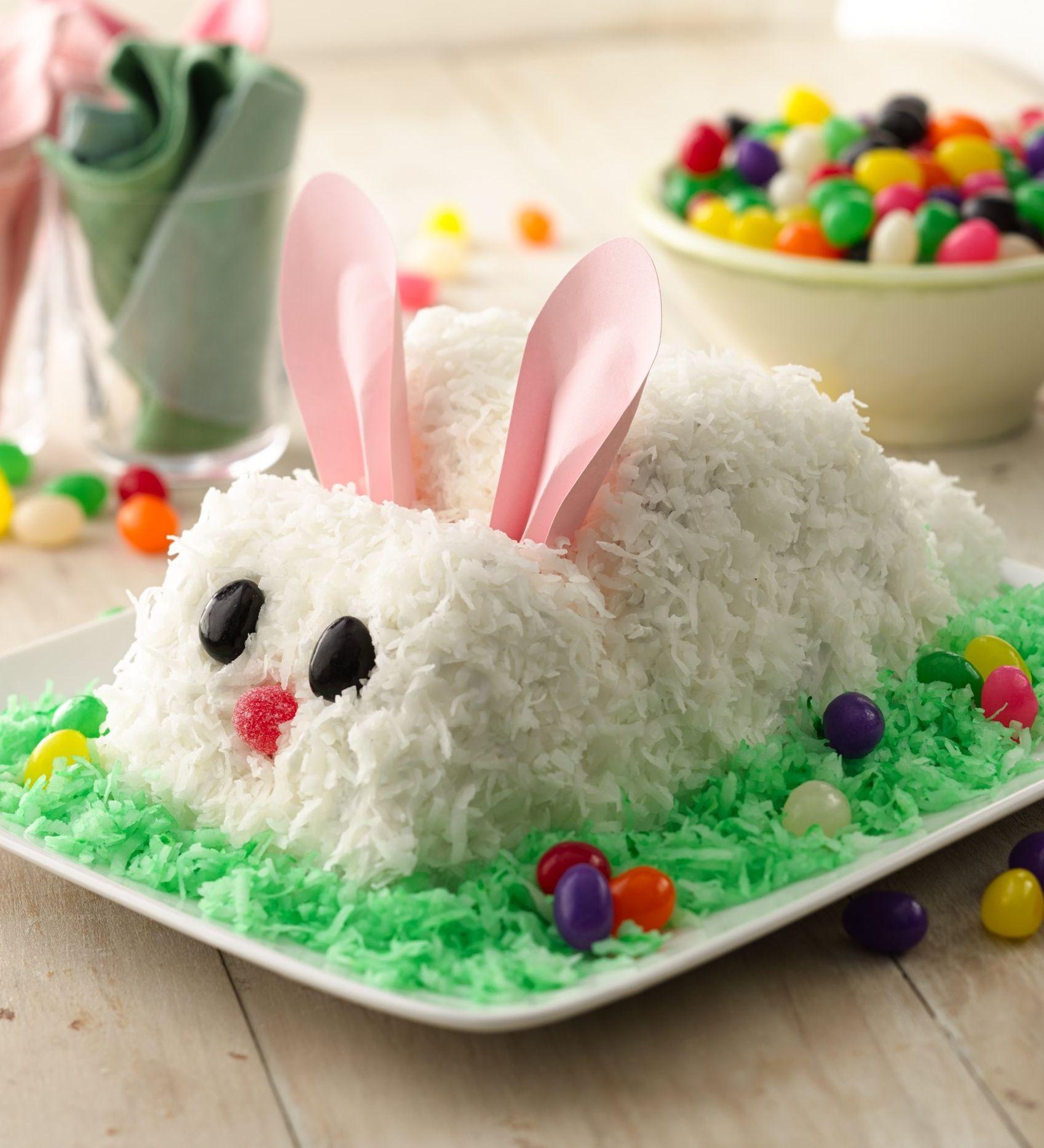 Pleasant Easter Bunny Cake Recipe Easter Bunny Cake Rabbit Cake Funny Birthday Cards Online Elaedamsfinfo