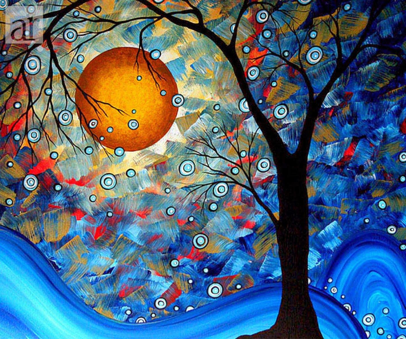 Pinturas modernas abstractas para habitaciones cuadros - Cuadros para habitaciones ...