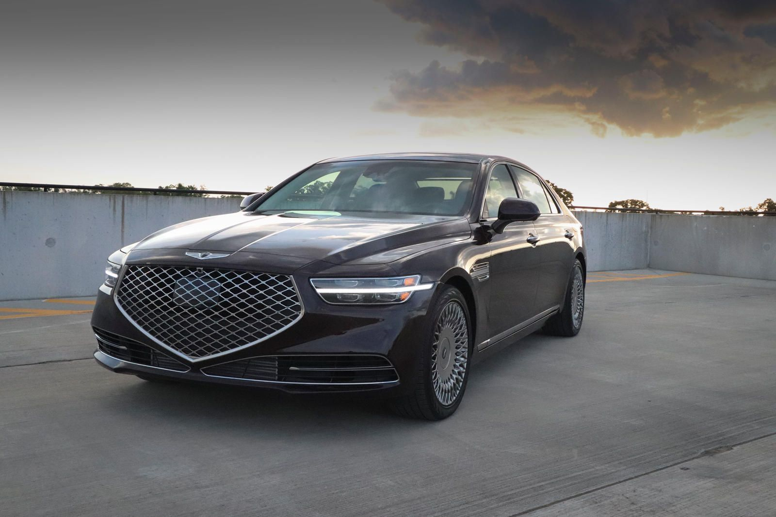2020 Genesis G90 Test Drive Review Ceo On A Manager S Budget In 2020 Luxury Sedan Rear Wheel Drive Twin Turbo