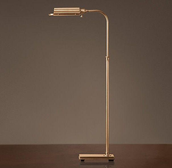 Classic floor lamps antique brass | Interesting floor lamps ...