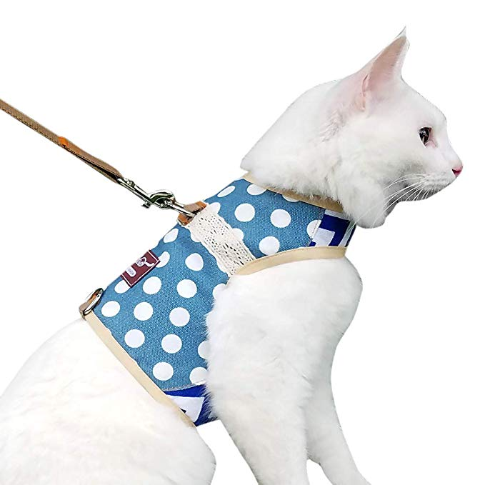 Pet Supplies Yizhi Miaow Escape Proof Cat Harness with