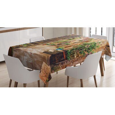 East Urban Home Italian Dining Room Kitchen Tablecloth | Wayfair #kuchentisch