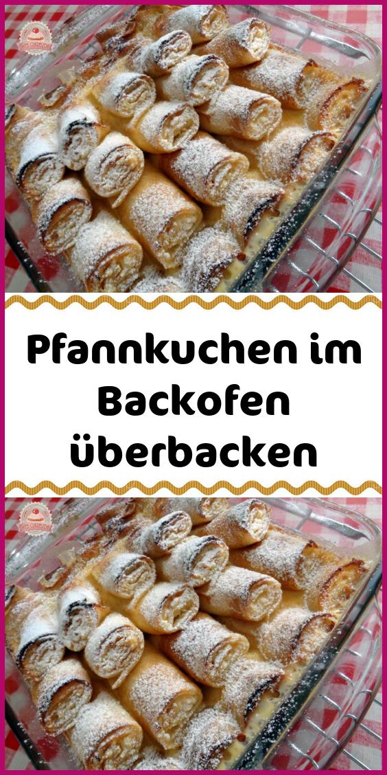 Pfannkuchen im Backofen überbacken #kuchenkekse