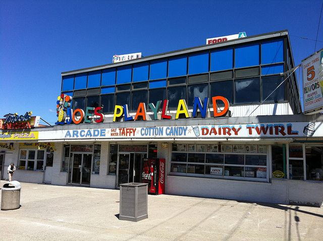 Joe's Playland - Salisbury, MA #boardwalk #arcade | JLENORE