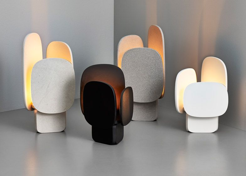 Stockholm swedish designer monica förster has collaborated with spanish company cosentino group to form a collection of outdoor candle holders and trays