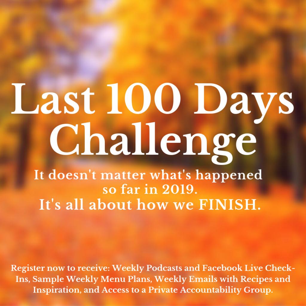 Last 100 Days Challenge