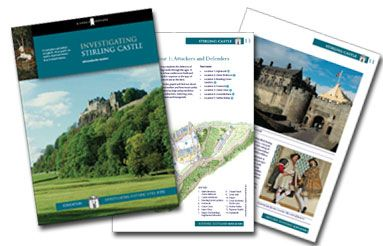 Free resource packs about Scottish history.  The one I want currently (Jan 2013) is about the Scottish Wars of Independence (esp. first war, for In Freedom's Cause by Henty).  Also here are a packet about Mary Queen of Scots, one about Castles of Scotland, and one about Stirling Castle.