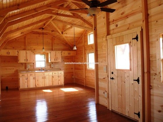 Virtual video tour of this amazing 16 348 log cabin by for Wide open country cabins