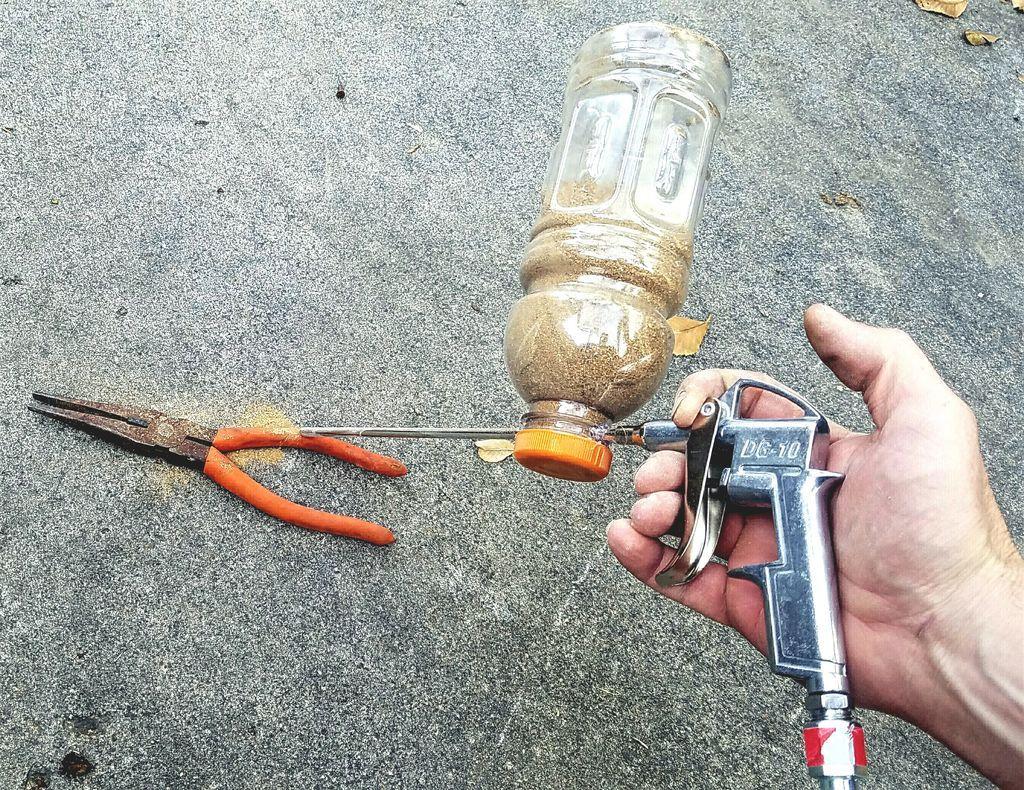 Diy 500 sandblaster homemade tools garage tools diy