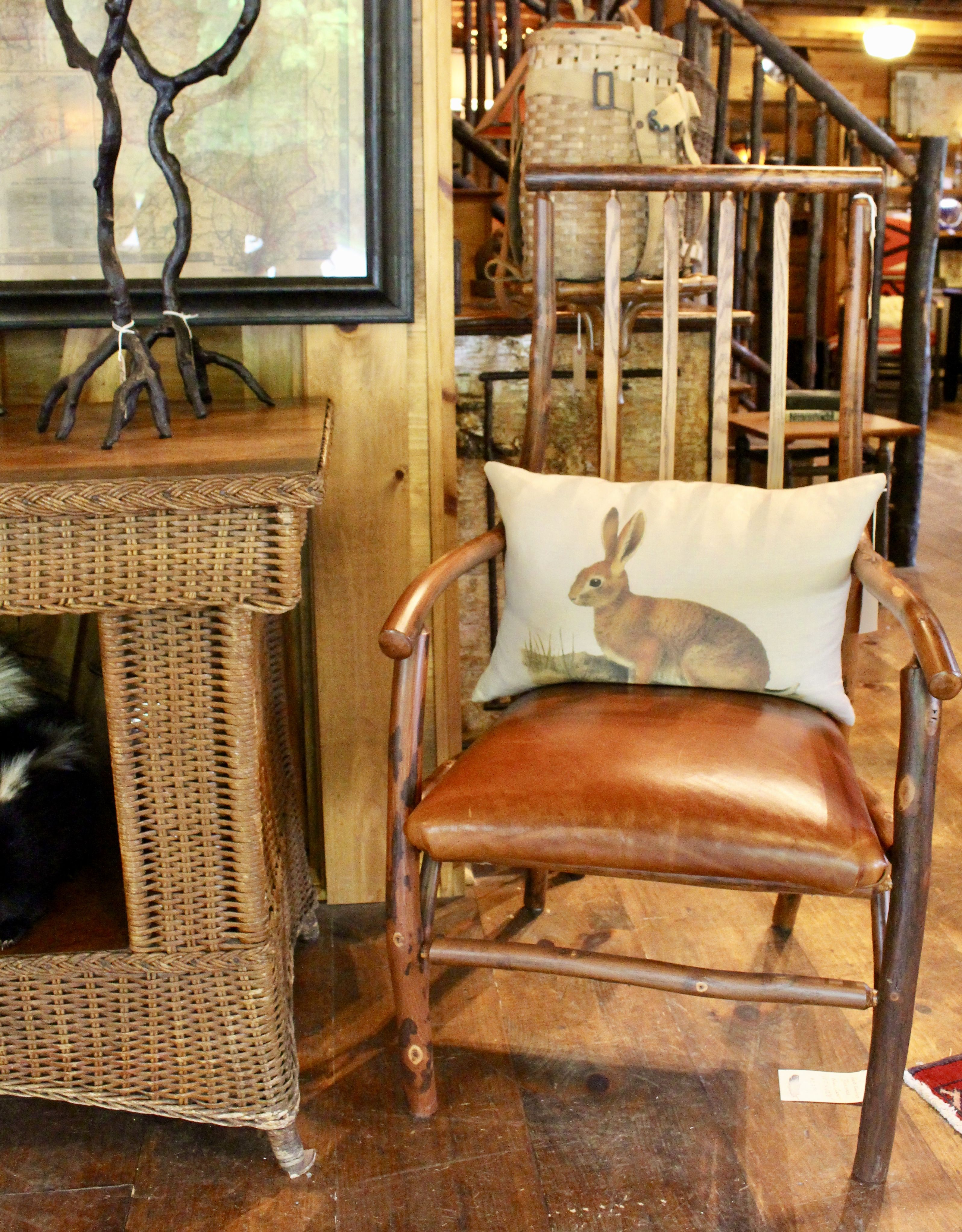 Flat Rock Furniture | Savannah Arm Chair | Dartbrook Rustic Goods | Keene,  NY