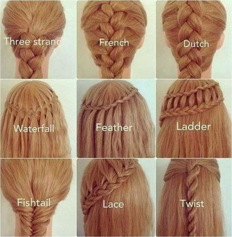 22 Gorgeous Braided Hairstyles For Girls. Cool Girl HairstylesEasy School  ...