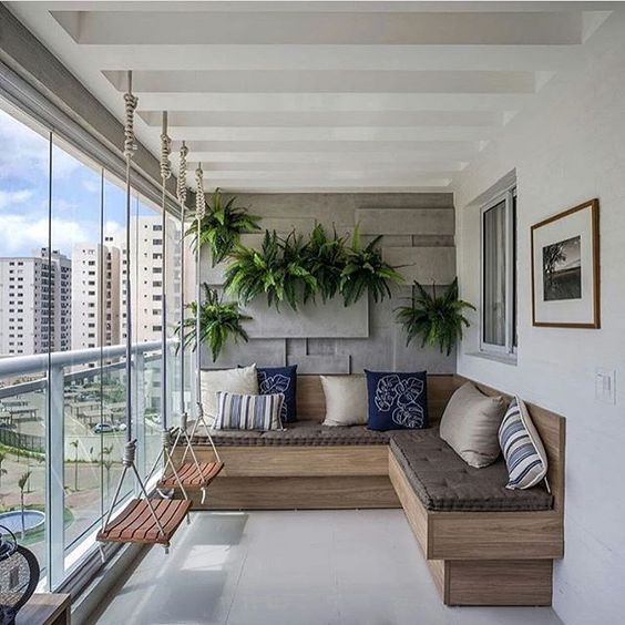 Ideas para balcones modernos balc n moderno sillones y for Sillones de balcon