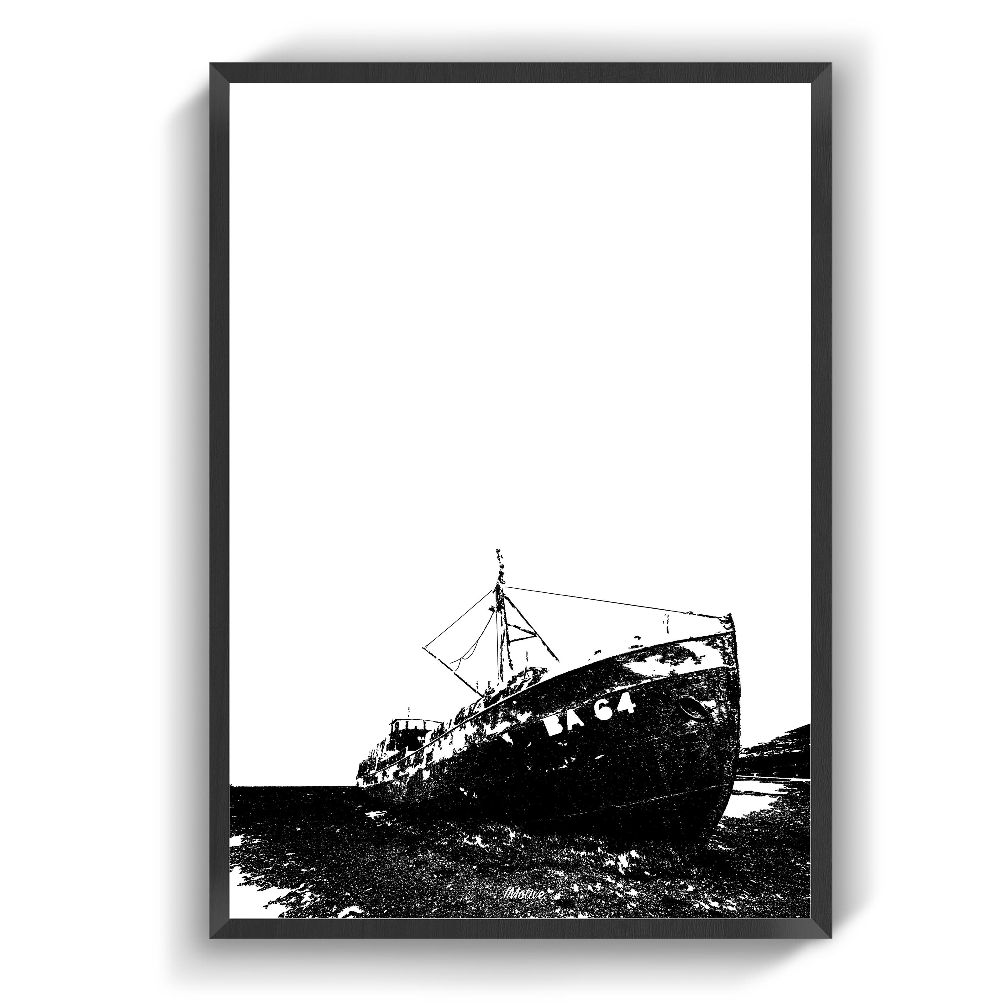 Plakater Grundstodt Skib Plakater Billeder Skib