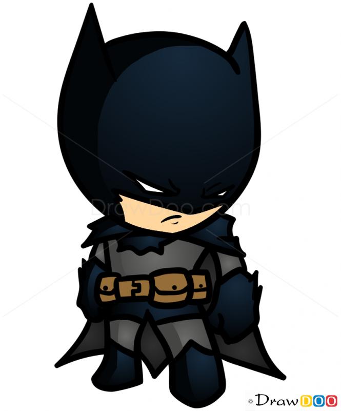 chibi batman coloring pages - photo#35
